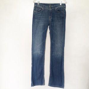 7 For All Mankind Flynt zig zag pocket jeans